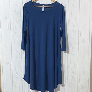🔴3/$25 Zenana T-shirt Dress Tunic w/ Pockets